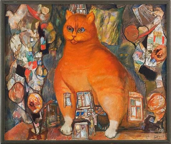 El gato de Kazán visto por Yuri Berdnikov