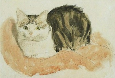 gwen-john-british-painter-1876-1939-wide-awake-tortoiseshell-cat