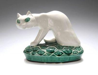 Gato de cerámica (1924)