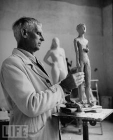 Gerhad Marcks, fotografía de E. Steinheimer (1949)