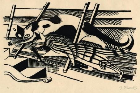 Los gatos en el ático (1920)
