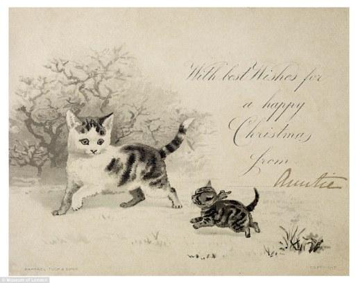 Vuestra tía os desea una feliz Navidad