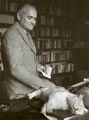 Alberto Moravia y Giuseppe